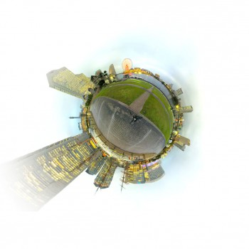 360 video and timelapse panorama with 3D Leap Motion Controller